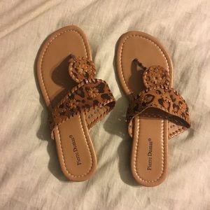 Shoes - Tan sandals